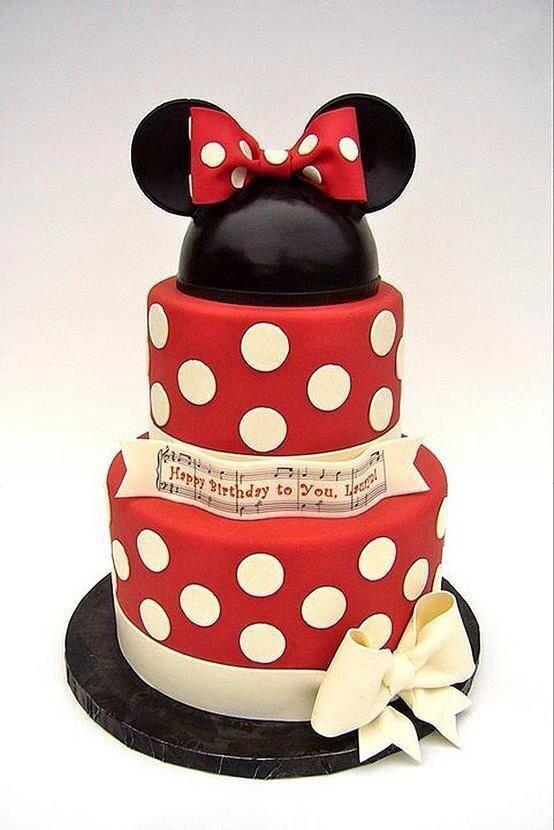 Minnie Mouse Cake Taart Idee 235 N Taart Feest En Taart