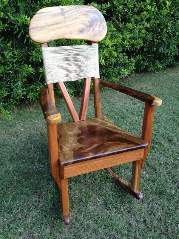 Kini @ WoodWorkingHawaii 808 227 9473   Solid Wood Furniture   Tropical  Hardwoods