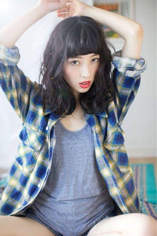 前髪で女らしさUP♡あなたのNEWヘアスタイルは「前髪」で決まり! | HAIR