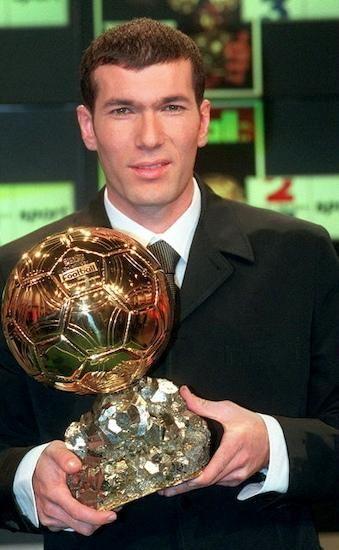 Zinedine Zidane, Balón de Oro, 1998