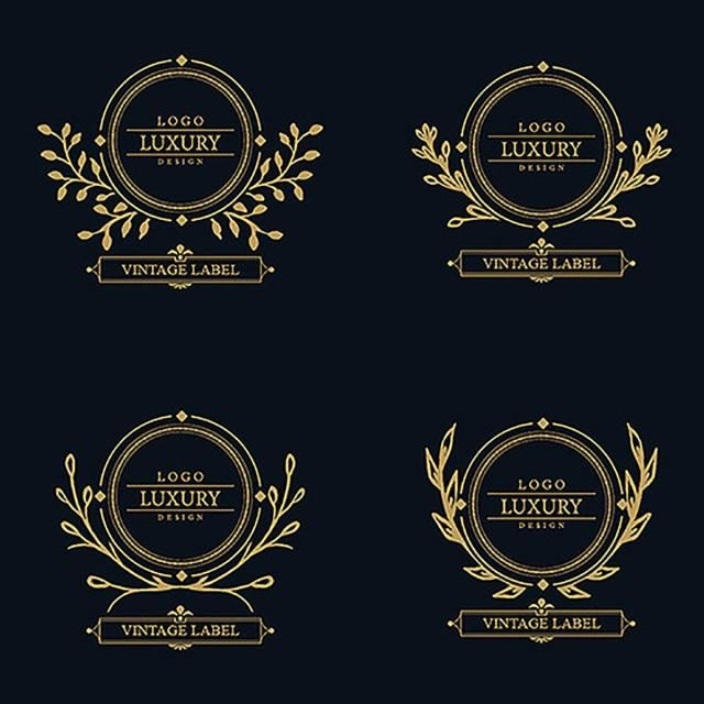 Cartoon Year Happy Greeting Png And Vector With Transparent Background For Free Download Luxury Logo Design Luxury Logo Logo Design