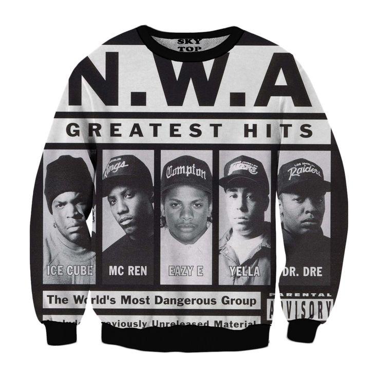 NWA Album Sweatshirt - Sky Top Clothing