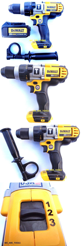 tools: New Dewalt Dcd985 20V Cordless 1 2 Hammer Drill, (1) Dcb200 Battery 20 Volt -> BUY IT NOW ONLY: $127.97 on eBay!