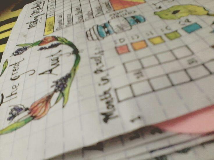 The great august.  #bujour #bulletjournal #planner #planneraddicted
