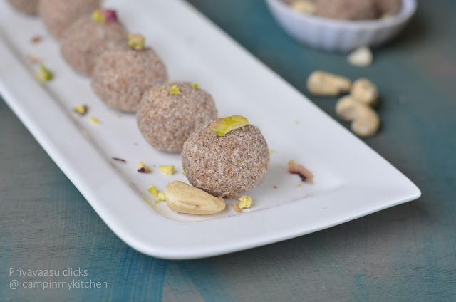 Ragi Laddu - No ghee, No White Sugar, Vegan & Gluten-free Dessert | I Camp in my Kitchen