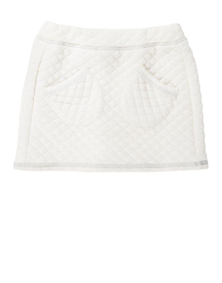 Quilted Skater Skirt