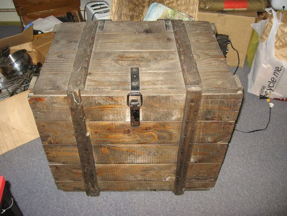 17 Best Images About Vintage Wood And Metal Tool Boxes And