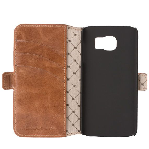 Samsung Galaxy S6 EDGE Wallet Case Galaxy by IstanbulLeatherShop