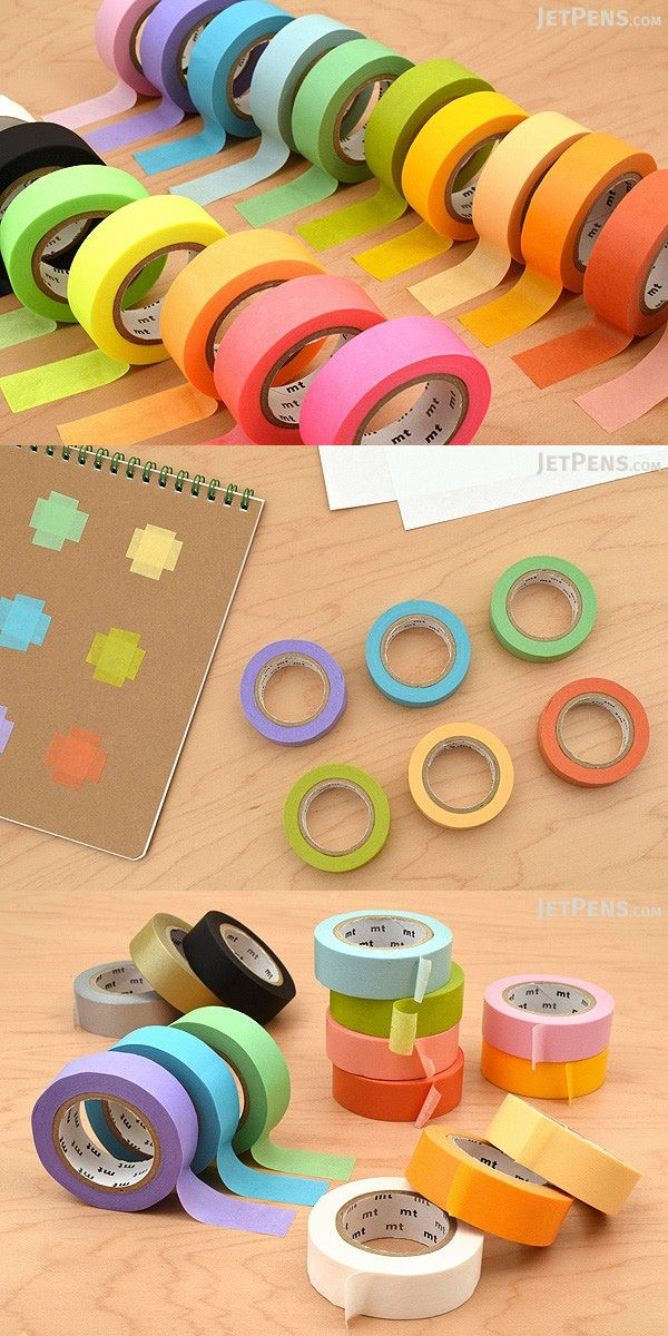 Use this MT washi tape to add whimsical accents to scrapbooks, gift cards, calendars, or even fixtures like light switches.