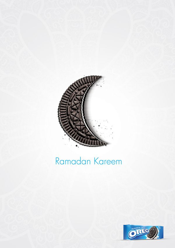 Oreo Ramadan project on Behance – to all Muslim pinners رمضان كريم
