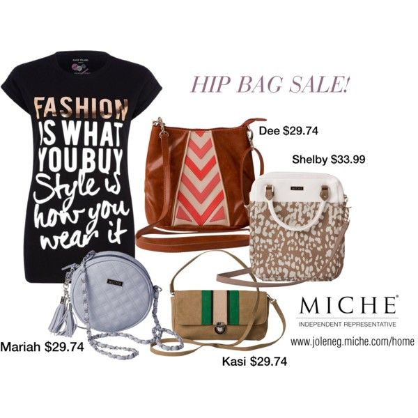 Miche Hip Bag sale by jolenemgordo on Polyvore featuring River Island