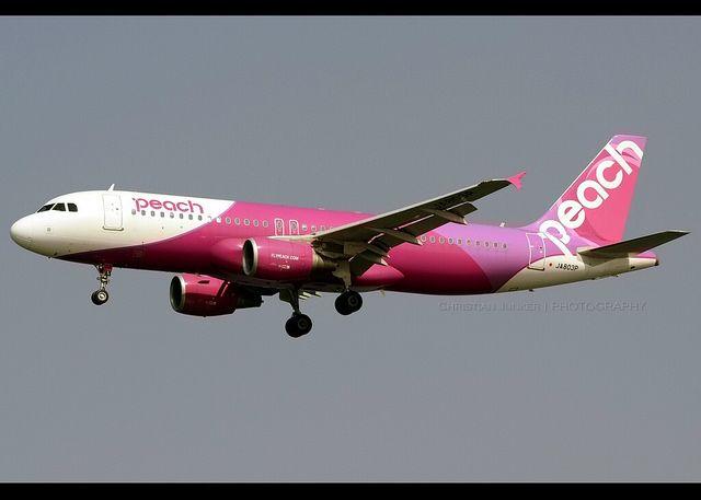 Airbus   A320-214   Peach Aviation   JA803P   Hong Kong   HKG   VHHH   Flickr - Photo Sharing!