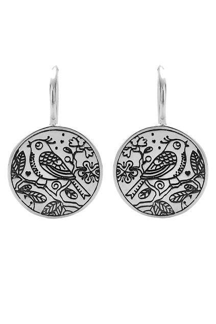 Najo Songbird Sterling Silver Earrings - Womens Earrings - Birdsnest Buy Online