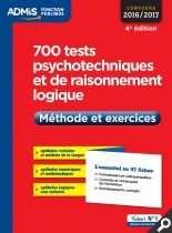 700 tests psychotechniques et de raisonnement logique - Méthode et exercices - L'essentiel en 47 fiches | Vuibert.fr http://catalogues-bu.univ-lemans.fr/flora_umaine/jsp/index_view_direct_anonymous.jsp?PPN=191844411