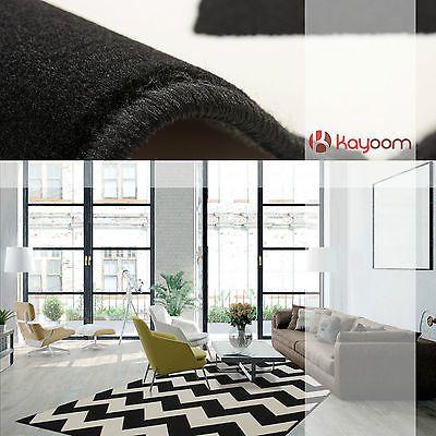 Zick Zack Flachflor Teppich Arabesque Nordic Scandic Retro Teppiche Schwarz NEU in Möbel & Wohnen,Teppiche & Teppichböden,Teppiche | eBay