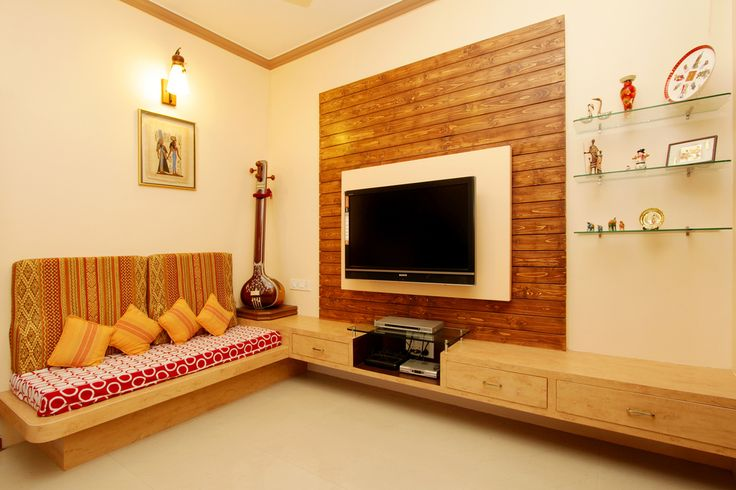 small drawing room interior design indian - Google Search