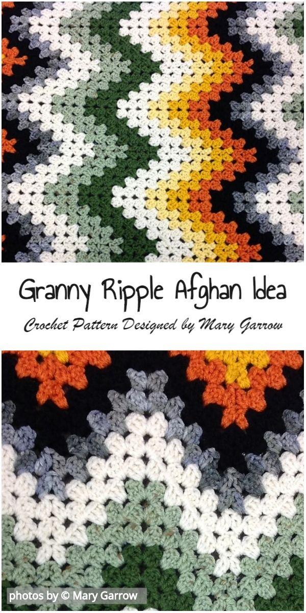 Granny Ripple Afghan Free Pattern 1001 Crochet Ideas For Free