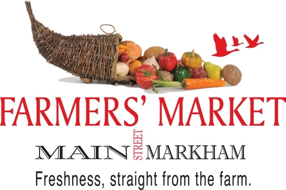 Main Street Farmers' Market - [Markham Farmers Market takes place in the heart of downtown Markham Village at Robinson Street and Main Street Markham North. Specializing in Farm Fresh Products the market features many organically grown fruits and vegetables, as well as baked goods, preserves, flowers, natural soaps and other products. The market runs annually from May to September and also features live entertainment every Saturday.]