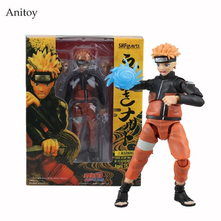 SHFiguarts Naruto Uzumaki Naruto 1/8 Scale Painted Figure PVC Action Figure Collectible Model Toy 14cm KT1250