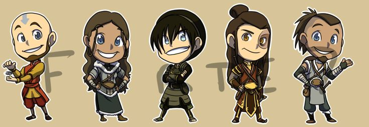 Stickers: Avatar The Last Airbender Set 2 by forte-girl7.deviantart.com on @deviantART