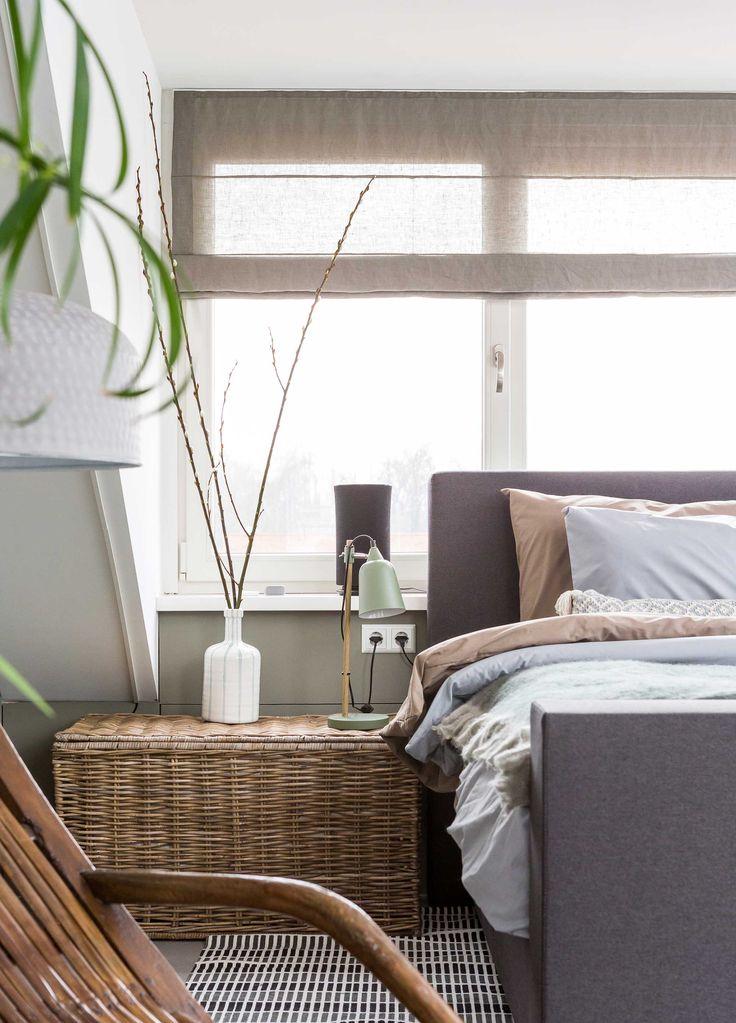 Slaapkamer bij Marloes en Nick uit aflevering 5, seizoen 1 | kijken en kopen | Make-over door: Frans Uyterlinde | Fotografie Barbara Kieboom