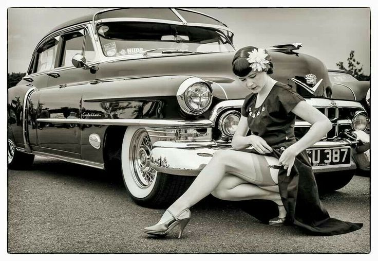 Pin Up Classic Cadillac Classic Cars Pin Ups Pinterest