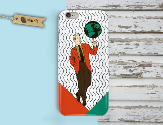Business Man Opart iPhone 7 Case iPhone 6 Case by KatarsisFactory