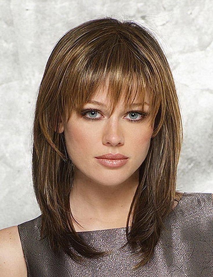 Best 25 Medium straight hairstyles ideas on Pinterest  Medium straight hair Shoulder length