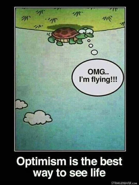 With a positive attitude and the right perspective, anything is possible! #ComicSunday