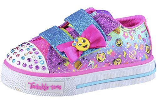 Skechers Kids Shuffles Starlet Pose (Little Kid), Hot Pink/Turquoise, 11 M US Little Kid