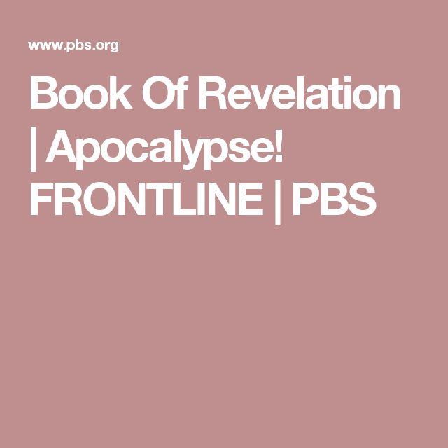 Book Of Revelation | Apocalypse! FRONTLINE | PBS