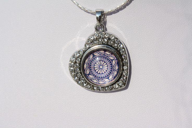 Armreife - Kette Armband Ring Ohrringe easy button lila  - ein Designerstück von trixies-zauberhafte-Welten bei DaWanda