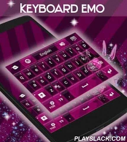 """Emo Keyboard  Android App - playslack.com ,  Onze ontwerpers hebben iets heel intrigerend voor uw smartphone : EMO TOETSENBORD ! DOWNLOADEN Emo Keyboard NU en geniet van deze slechte graphics!- Om te installeren , volg gewoon de 3 stappen : open na het downloaden , drukt u op """"Instellen als Active Theme"""" en selecteer het thema van de volgende pagina !- De verbazingwekkende HD screenshots voegden wij zullen u laten zien hoe groot dit thema zal kijken op je telefoon toetsenbord !- Dit thema…"""