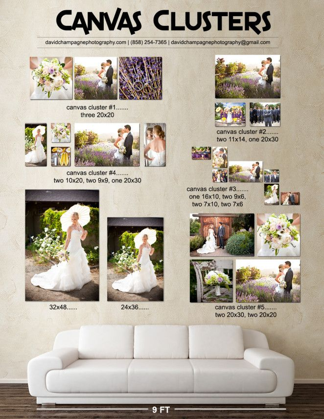 Canvas Clusters Web Frame LayoutBeach Wedding PhotographyWall CollagePhoto DisplaysVirginia BeachWall IdeasRoom