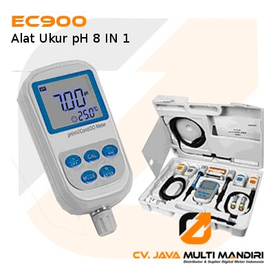 Alat Ukur pH 8 IN 1 EC900