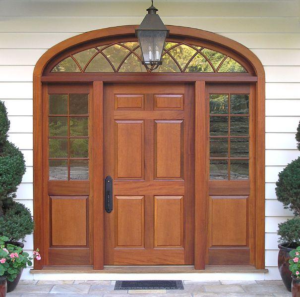 6 Panel Door With 8 Lite Over 1 Panel Sidelites. Exterior ...