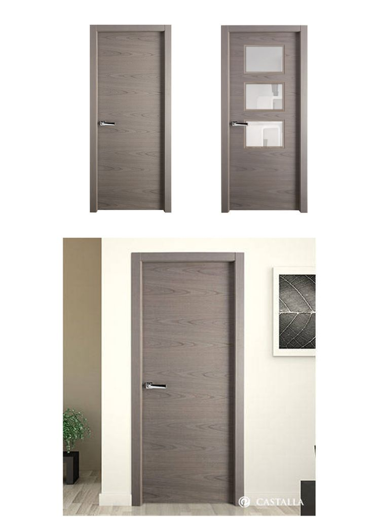 43 best madera oscura puertas de interior images on for Puertas castalla