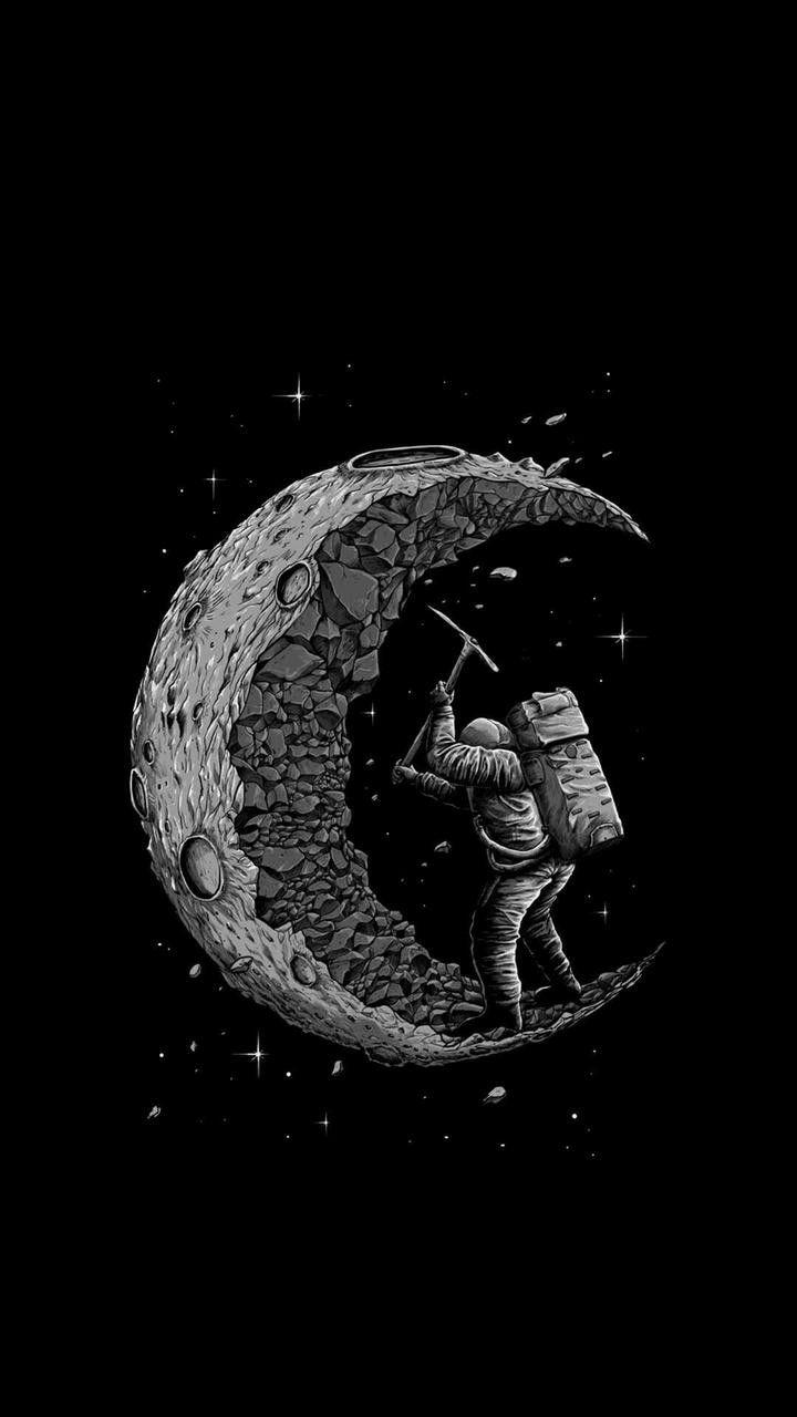 Pin By Kucing Hitam On Jomblo Wallpaper Space Astronaut Wallpaper Astronaut Art