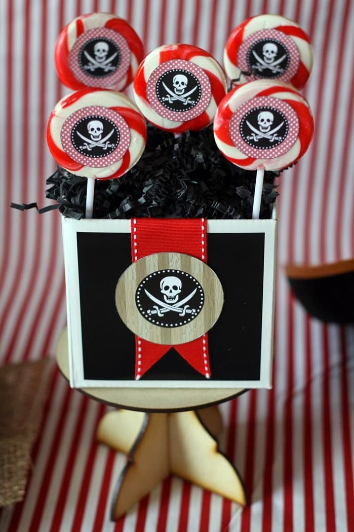 Pirates theme birthday party