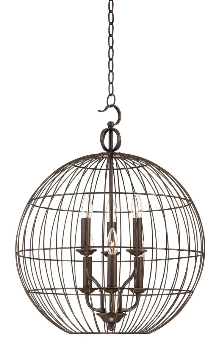 15 Best Dining Room Light Images On Pinterest Chandeliers Pendant Heathco Wire In Motion Sensor Control Reviews Wayfair Industrial Candelabra 6 20 Wide Cage