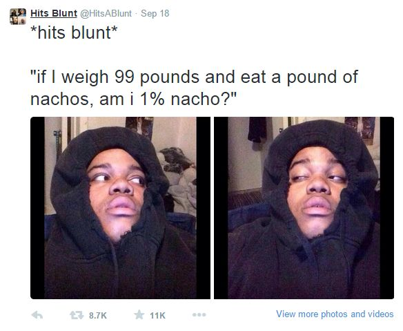 12 Hilarious Stoner Thoughts As Tweets - Gallery