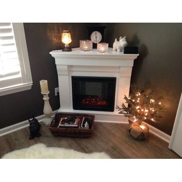 Real Flame Chateau Corner Electric Fireplace & Reviews | Wayfair