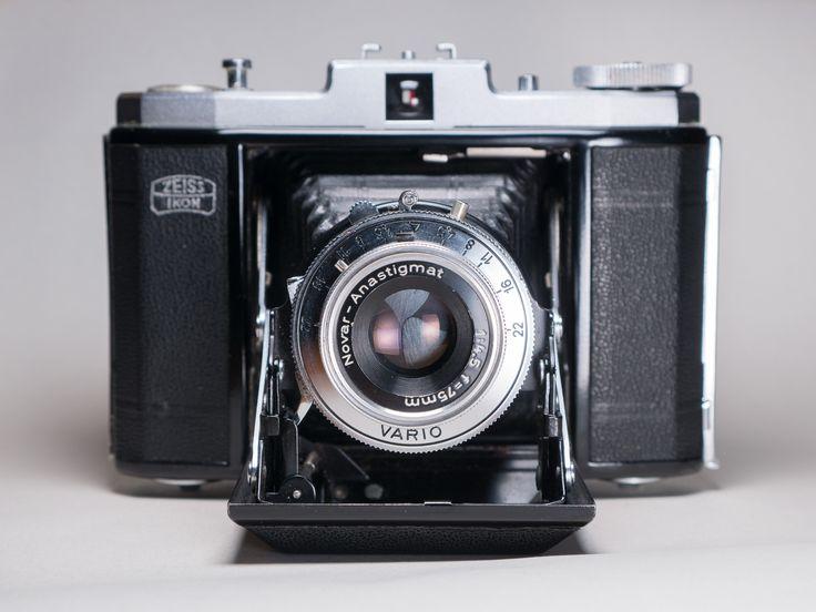 Zeiss Ikon Nettar 518/16 + Novar-Anastigmat 75mm f/4.5 VARIO (1958)