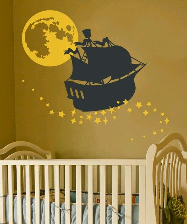 Cute nursery theme! Peter Pan all the way!                                                                                                                                                      More