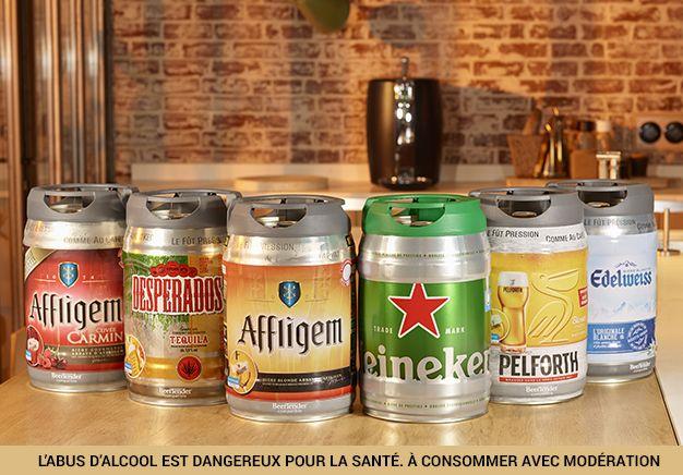 @BeerTender® vous présente les Machines à bière et fûts #BeerTender - L'abus d'alcool est dangereux pour la santé. A consommer avec modération.