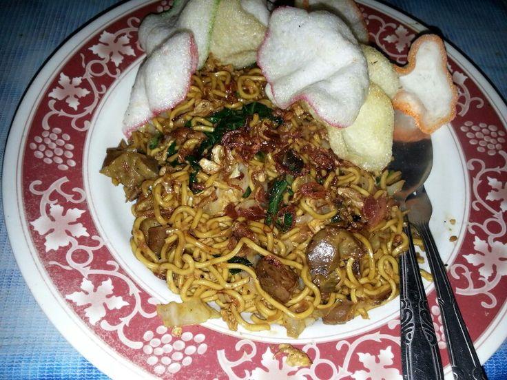 Fried noodles @sukasari