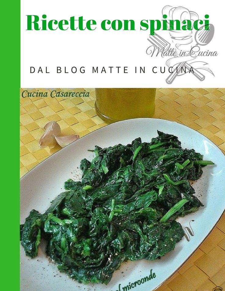 Raccolta+ricette+con+gli+spinaci