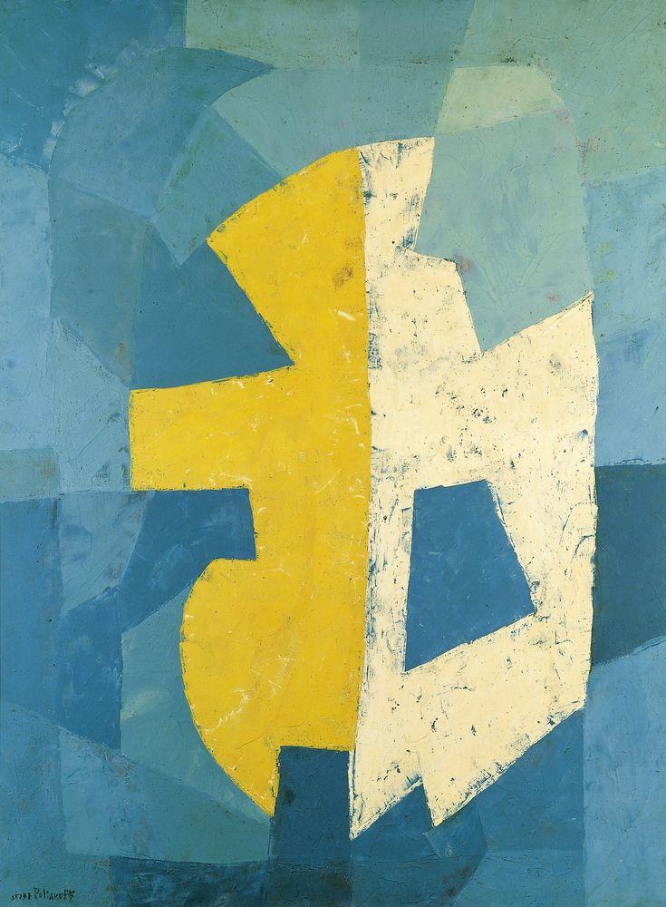 Serge Poliakoff 1950 - Composition