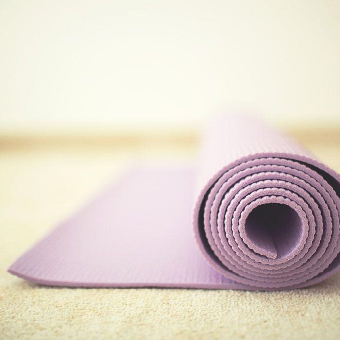 Yoga guru Heidi Kristoffer explains the best way to clean your yoga mat.