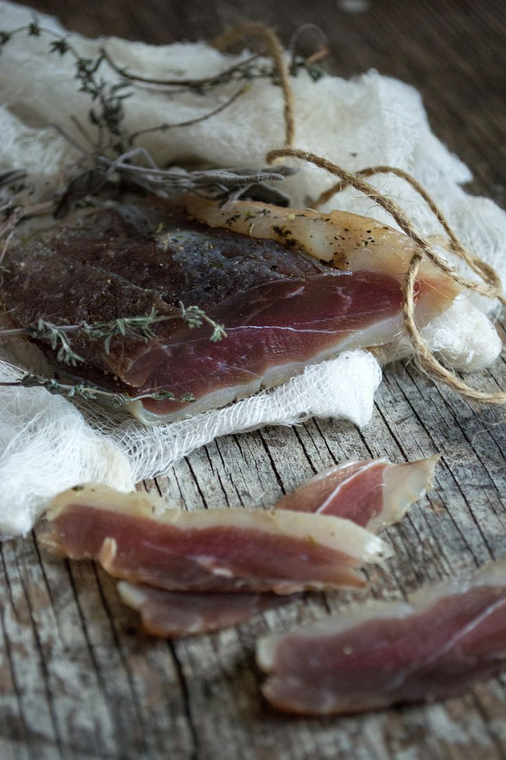 Home-made duck prosciutto (He Needs Food) - something different to do with the breasts of our annual confit-thigh/leg ducks